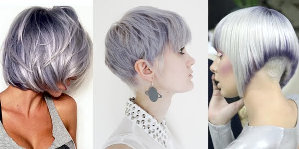 Silver Shades for Short Haircuts!!! - The HairCut Web