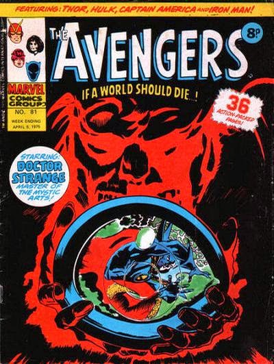 Marvel UK, Avengers #81, Dr Strange