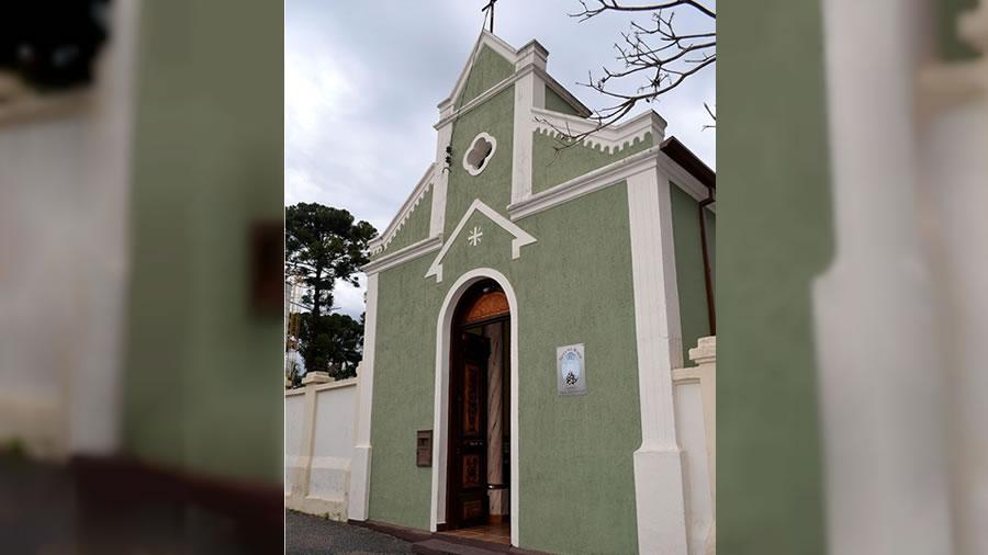 Foto  da Capela Nossa Senhora da Rosa Mística em Espirito Santo do Pinhal