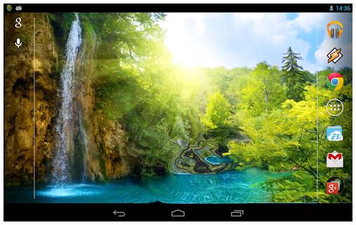 Waterfalls 3D Theme