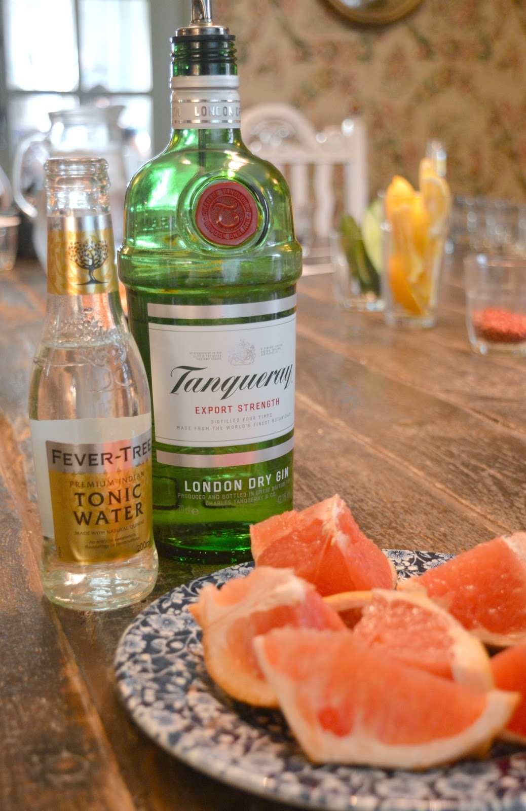 A Gin Masterclass at the Botanist Newcastle - Tanqueray