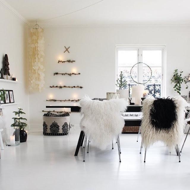 Праздничный декор. Рождественская атмосфера в скандинавском богемном стиле