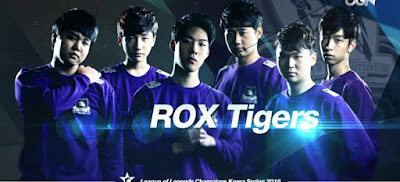 E-Sports - ROX Tigers, SK Telecom T1 at LoL Championship