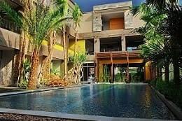 Hotel Eclipse bintang 2 di jalan prawirotaman yogya