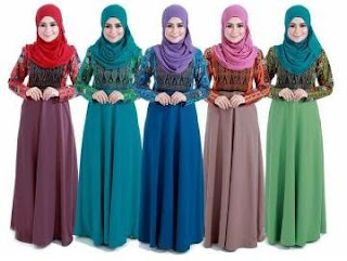 Aneka Fesyen Baju Batik Songket Sarawak Trend Terbaru