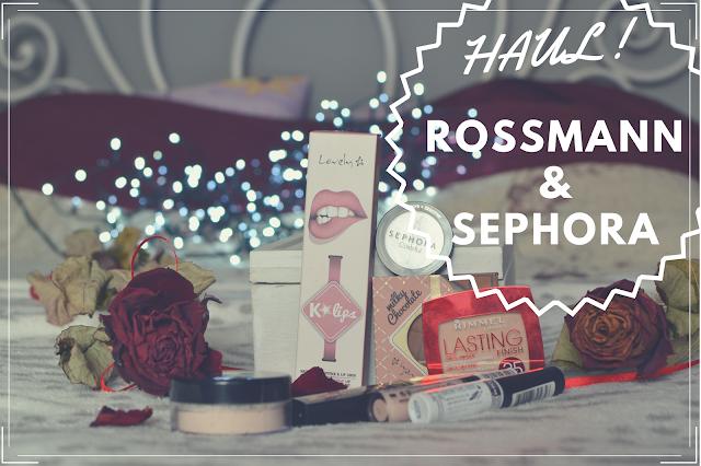 MAKE UP HAUL! - Sephora, Rossmann POLECANE PRODUKTY!