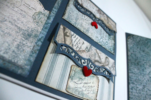 Bracket Borders de Spellbinders. Scrapbook
