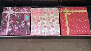 Kotak | Box Cokelat Album Motif