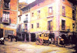 Paisaje de Nájera: Cuadro de Ignacio Zuloaga en 1916
