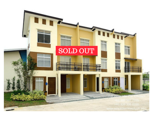 Mabelle 3 Storey Townhouse Zone 2 - Lancaster New City Cavite