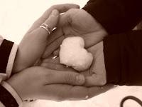 imagen amor+invierno+manos