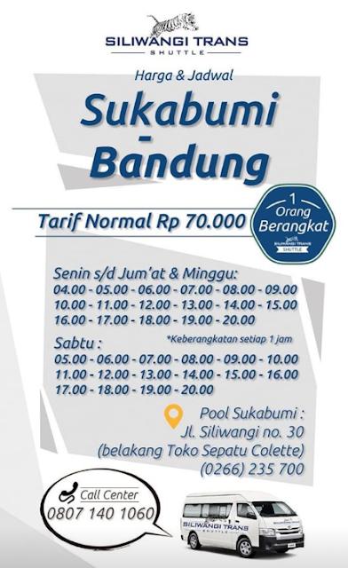 Jadwal Travel Sukabumi Bandung