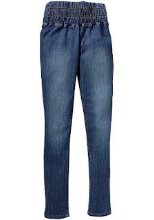 Моделирующие джинсовые легинсы