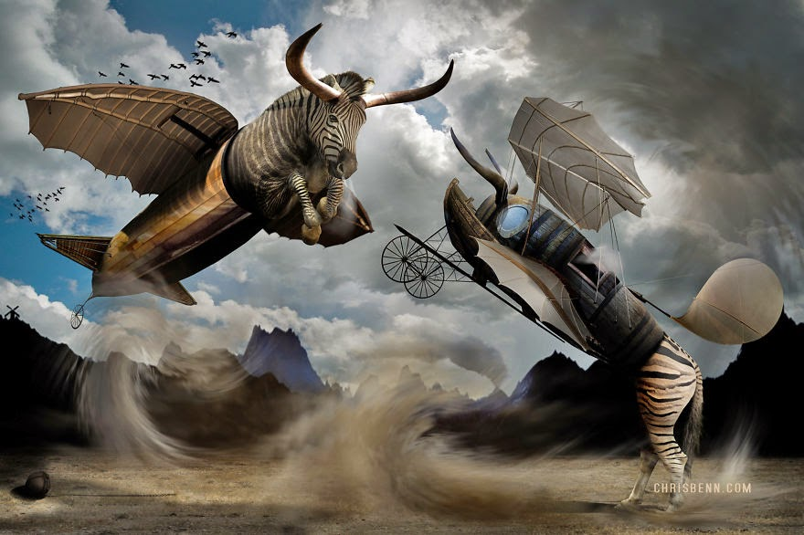 14-Romulus-and-Remus-Chris-Bennett-Animal-Photographs-of-Surreal-Art-www-designstack-co