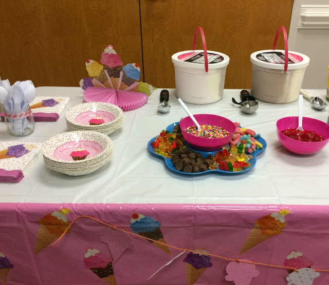 """What screams """"Summer"""" more than ice cream! Here is how I created an ice cream party to celebrate the beginning of Summer."""