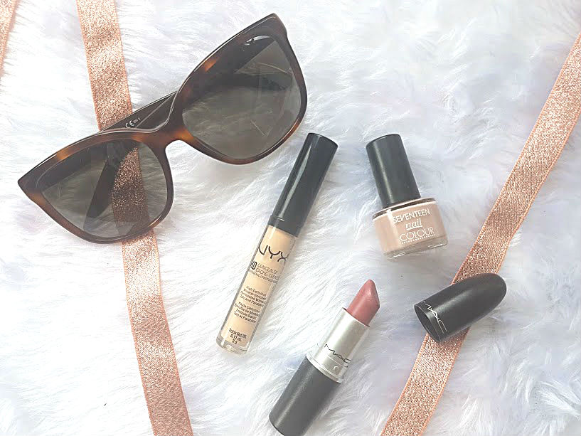 makeup essentials on the go