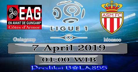 Prediksi Bola855 Guingamp vs Monaco 7 April 2019