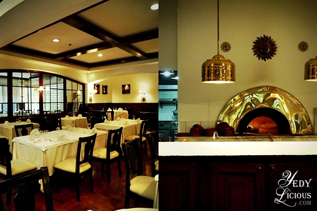 Fine Dining Ambiance at Caruso Makati