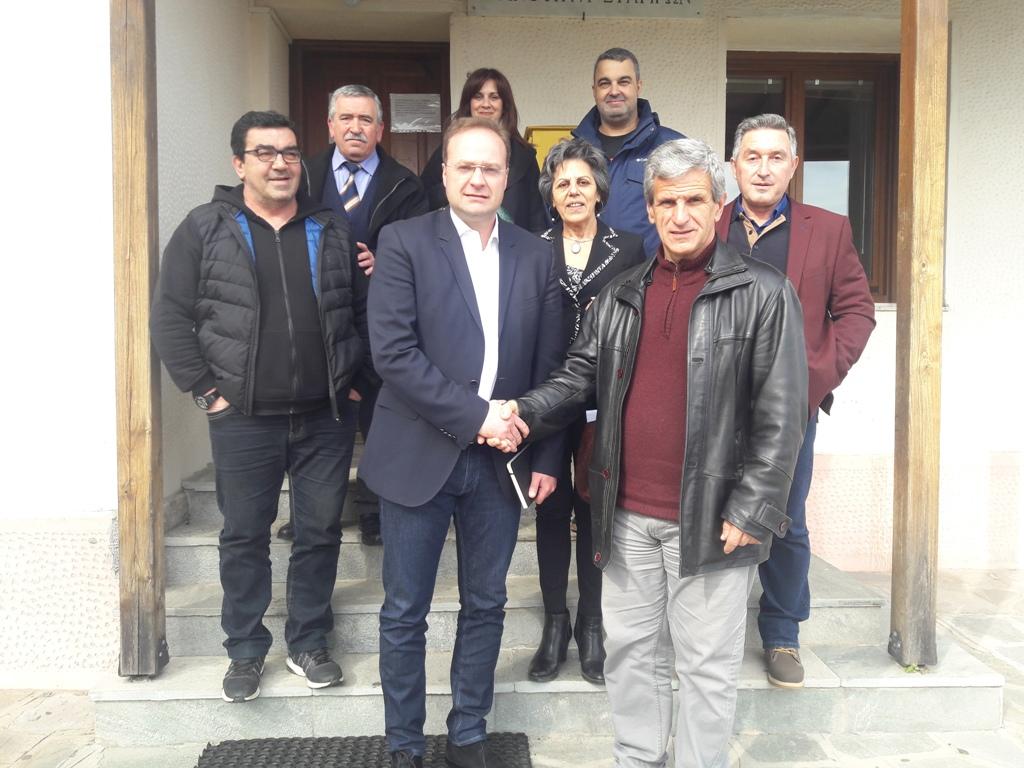 Επίσκεψη και προγραμματικές δεσμεύσεις του Στέλιου Βαλιάνου στα Στάγειρα