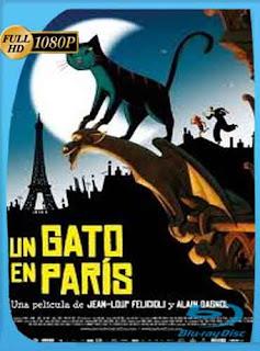 Un gato en París (Une Vie de Chat) (2010)  HD [1080p] Latino [Mega] dizonHD