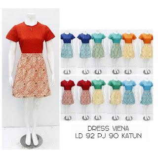 Dress Batik Viena