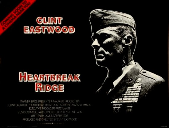 the clint eastwood archive  heartbreak ridge 1986