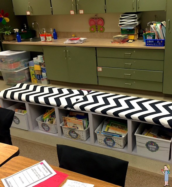 back to school; classroom reveal