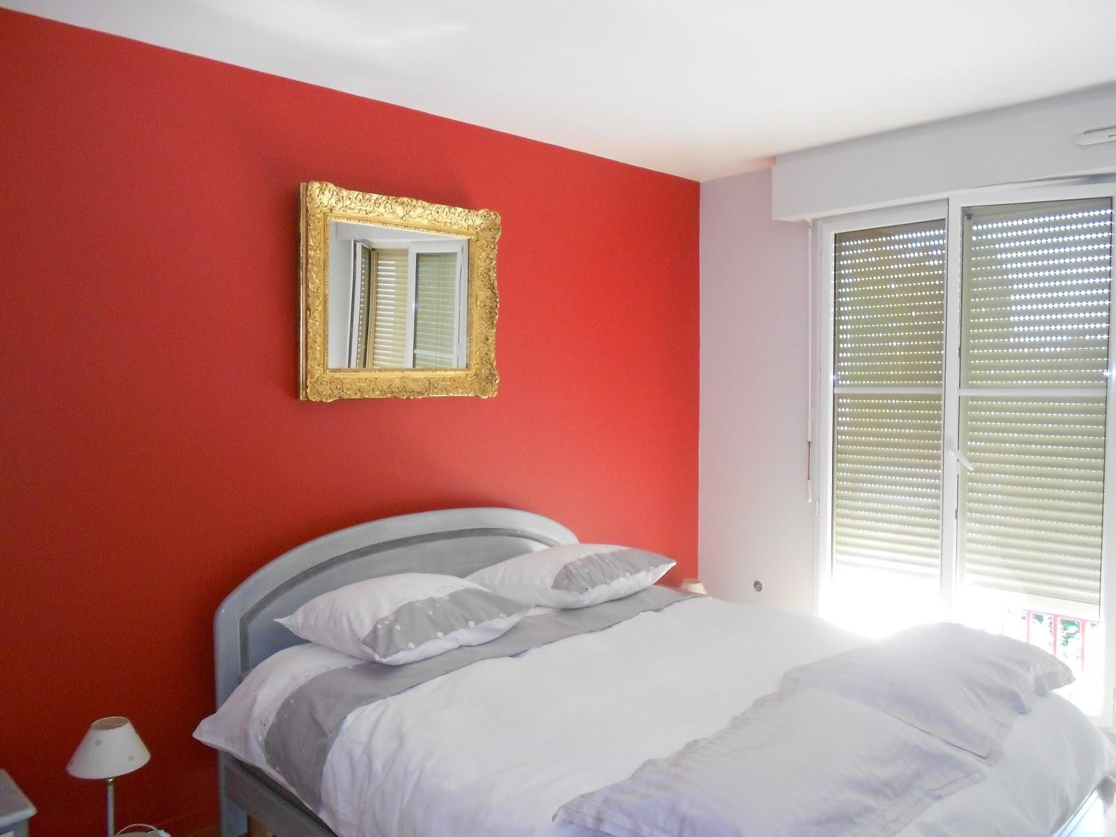 Peinture Chambre Rouge   Beau Chambre Rouge Best Deco Chambre Gris ...