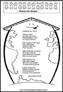 Poema cuidando da terra