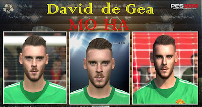 PES 2016 David de Gea Face by Mo Ha