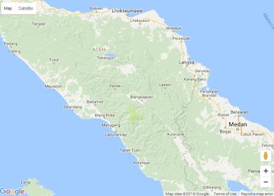 Tampilan Google Map