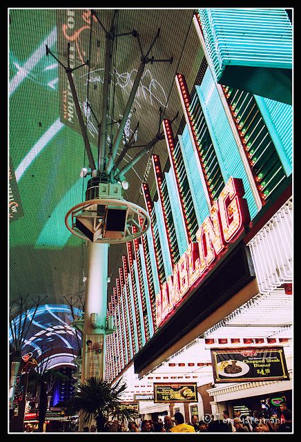 The Fremont Street Experience in Las Vegas, NV