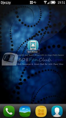 QuickSnaps 1 2 6 Screenshot App for Nokia N8 & Belle smartphones