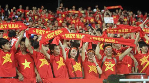 Sự cuồng nhiệt của các cổ động viên Việt Nam