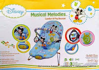 Baby Bouncer Disney Musical Melodies Comfort and Play