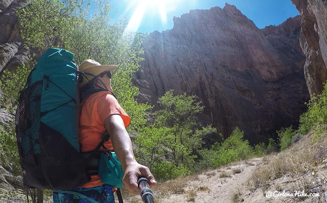 Waymark Gear Co. LITE 50 Liter Pack, Backpacking the Escalante River