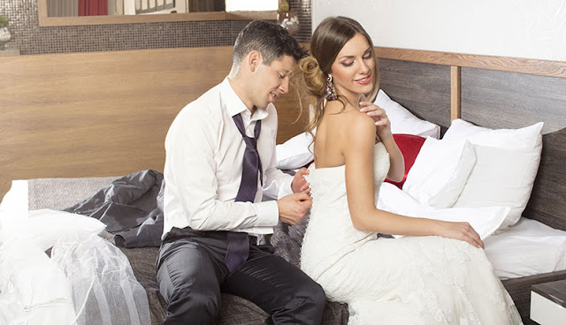 Real wedding night sex have