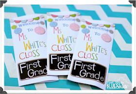 First Grade Blue Skies Custom Classroom Brochure For Open