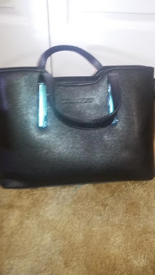 Z-joyee Leather Top Handle Handbag Tote Shoulder Bag:Review-A little Bit Of Something- A nice purse on a budget.