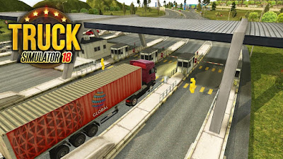Truck Simulator 2018 Europe Apk + Mod (Unlimited Money) Data for android