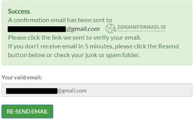 Konfirmasi Email