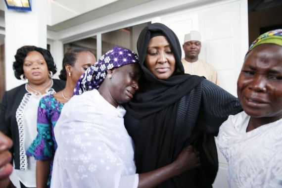buhari wife chibok mothers