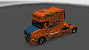 Longline Singer Skin for Scania T