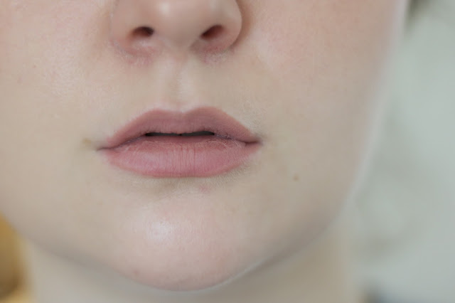 stila stay all day liquid lipstick sheer carmello swatch