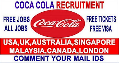 Job Vacancies At Coca Cola Company