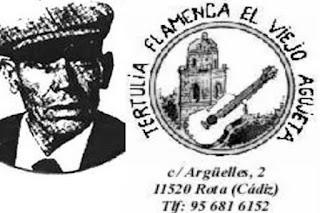 LA PEÑA FLAMENCA DE ROTA CAMBIÓ SU NOMBRE A LA TERTULIA FLAMENCA EL VIEJO AGUJETAS