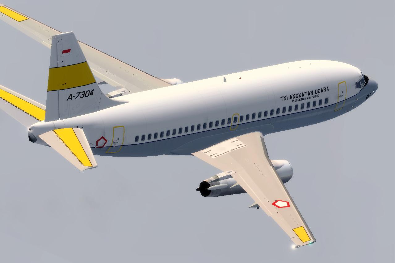 Tinmouse Ii Boeing 737 200