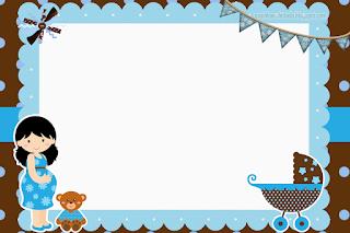 Esperando un Bebé: Mini Kit para Imprimir Gratis.