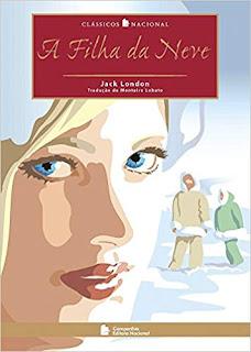 Capa do livro A Filha da Neve