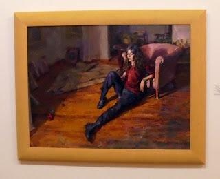 Κοπέλα στο Πάτωμα του Στέφανου Δασκαλάκη